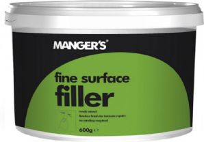 Mangers fine surface filler 600gms